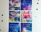 Out of this World - quote cards