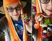 Splatoon Hat - Inkling Girl - Orange