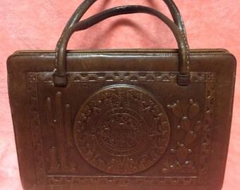 Vintage Mexican Leatger Handbag