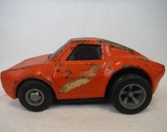 1970's Tonka Orange Toy Car - Antique, Vintage, Collectible