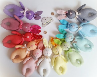 easter bunny easter bunnies easter easter decoration pastel colours rainbow colours - Easter Decoration