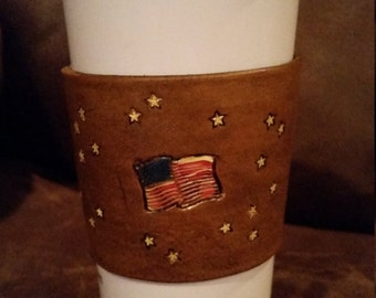 Leather Cup and Mug Wraps