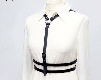 11 Leather BODY HARNESS