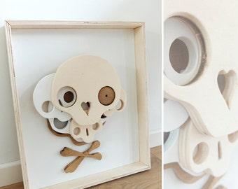 skull on skull