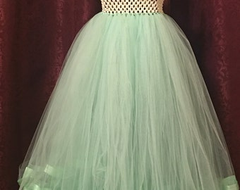 Bridesmaid, Formal, Mint Green