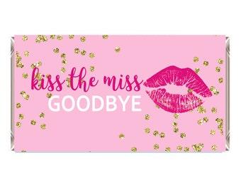 Gutsy image regarding kiss the miss goodbye printable