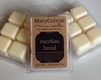 Zucchini Bread Soy Wax Melt | Soy Wax Melts | Zucchini Bread Wax Melts | Bakery Scent Wax Melt