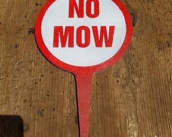 No Mow Yard / Garden Sign