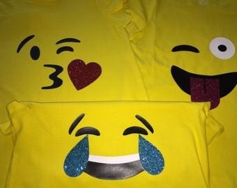 Little girls Emoji shirts, Emojiis, Emoji, Emojiis shirts, Emoji shirts