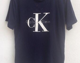 Vintage Calvin Klein CK usa tshirt M