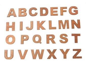 Wood Letters (Entire Alphabet Set)