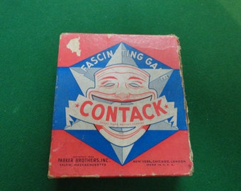 Contack Game Parker Brothers 1939