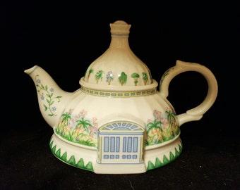 Lenox English Garden Tea Pot