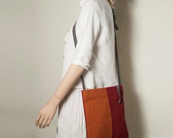 Summer trends, Summer bag, Cross body bag, Orange bag, Small bag, Gift idea, Gift for her, Креста тела сумка, маленькая сумка, Women Bags