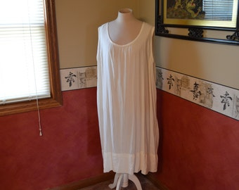 Vintage Nightgown, Antique Night Dress, 1910 Evening Gown, #327