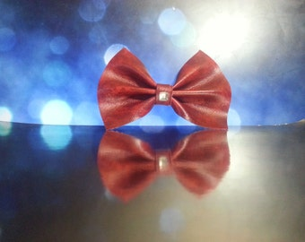 Red Marble Bow