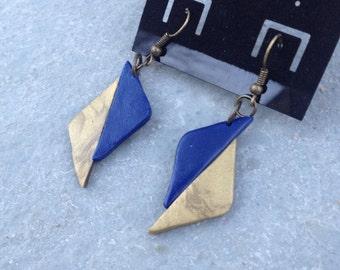Classy Chic Polymer Clay Dangle Earrings