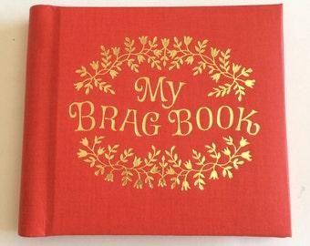 Vintage Orange My Brag Book Photo Album