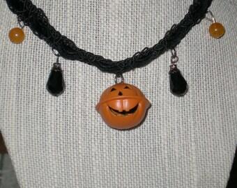 Pumpkin Belle choker