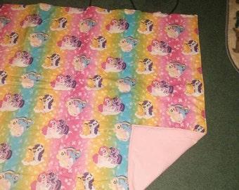 My little pony blanket