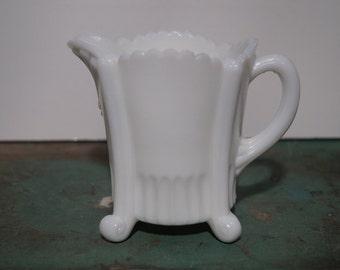 Westmoreland Milkglass Creamer