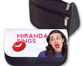 Miranda Sings Pencil case / Make up bag (photo lips)
