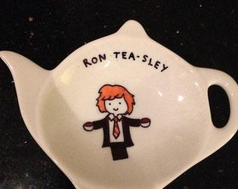 Harry Potter themed tea bag tidy