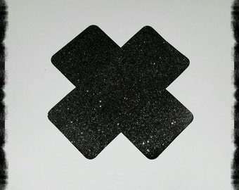 Cross Glitter Pasties