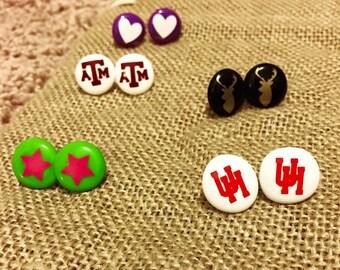 Bead earrings