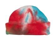 Rainbow Baby Hat - Hand D...