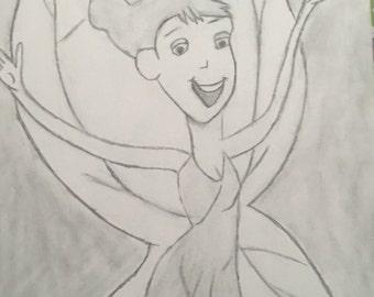 Tinkerbell illustration