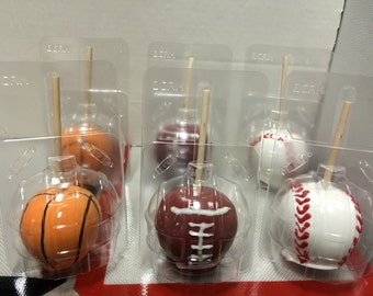 Clear Large Bubble Candy Apple Containers