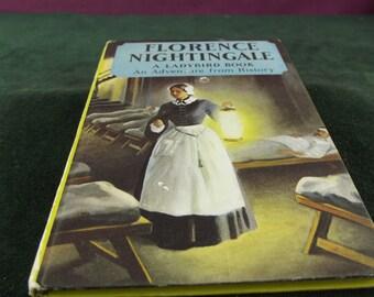 Vintage Ladybird book series 561 Florence Nightingale marked  price 2'6