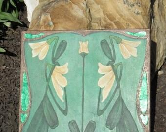 Original: Art Nouveau Tulip Floral