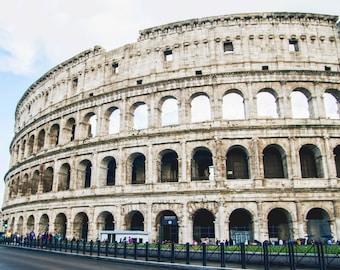 Colesseum Rome, Italy 8x10 Photo