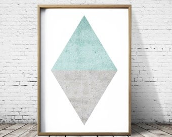 Geometric Art Geometric Prints Wall Art Prints Modern Prints Geometric Decor