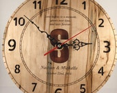 Personalized Wooden Clock...