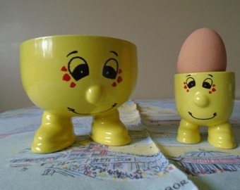 walking ware breakfast set bowl/egg cup