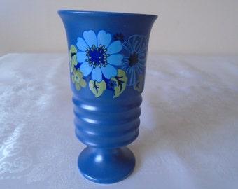 carlton ware 70's funky pedestal mug