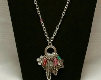 Cluster Chain Necklace