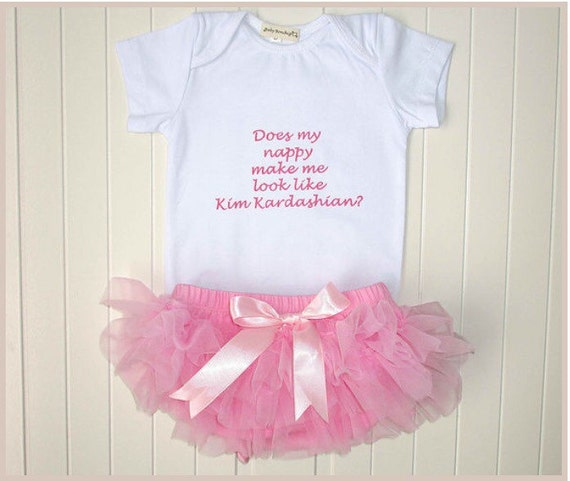 Baby Gifts Quirky : Quirky gift baby girl newborn shower kardashian nappy