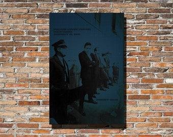 Johnny Cash 12x18 Print, Johnny Cash, Johnny Cash Wall Art, Johnny Cash Poster, Johnny Cash Print, Instagram, Folsom Prison, Johnny Cash Fan