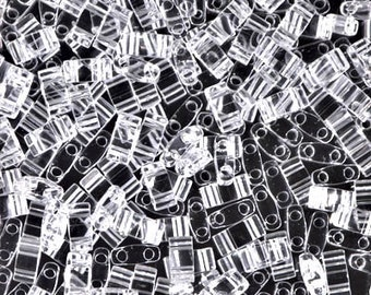 Half Tila Crystal #131  Miyuki Seed Beads - 10 grams