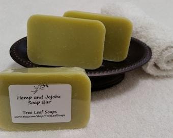 Hemp Patchouli Soap Bar