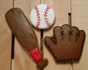 Baseball glove, baseball and bat- This can also be softball