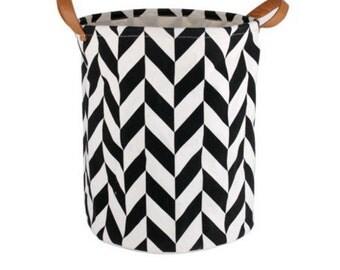Geometric Laundry/Toy Basket