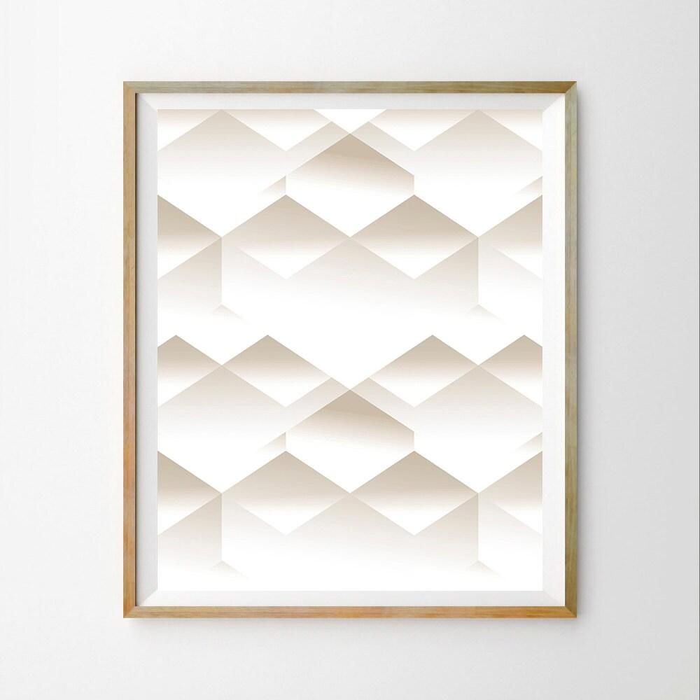 Geometric Art Download Scandinavian Wall Art Print Modern
