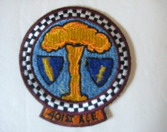 United States Air Force 401 st  A & E Patch 1957