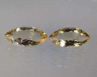 4.31 Ct ~ 14 X 7 mm MARQUISE Pair Natural SCAPOLITE ~ Genuine Africa Mined Untreated Unheated