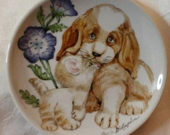 Puppy dish DISH PUPPIES